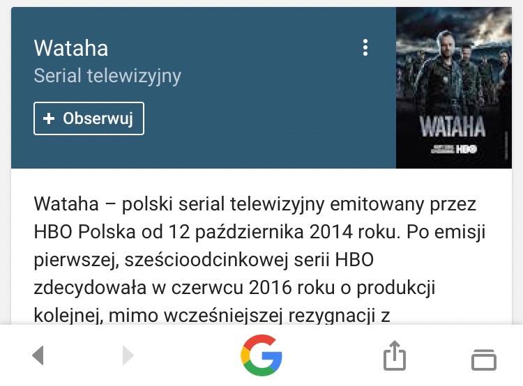 wataha serial telewizyjny informacje - smartfon
