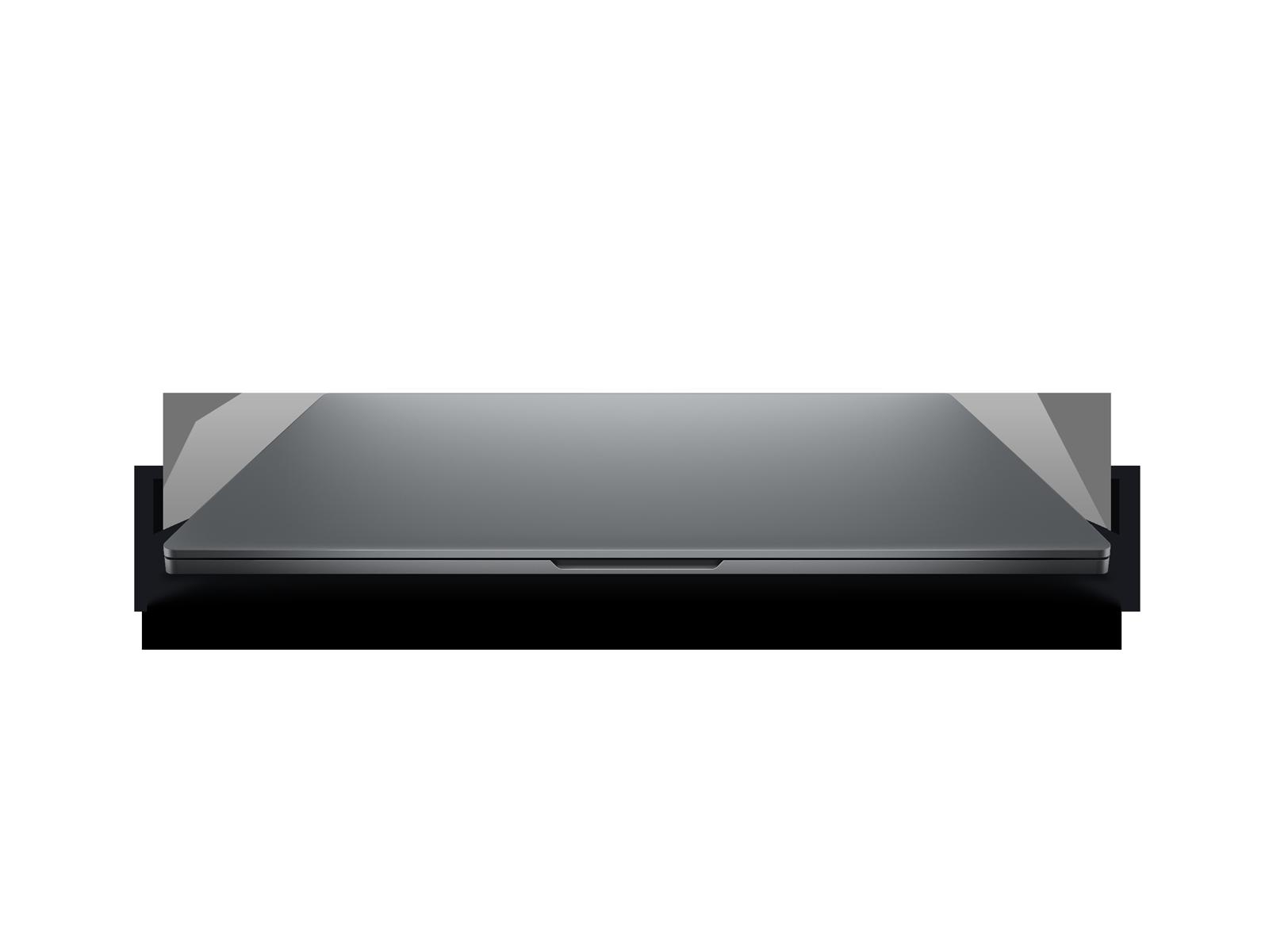 Xiaomi Mi Notebook Pro - zamknięty laptop