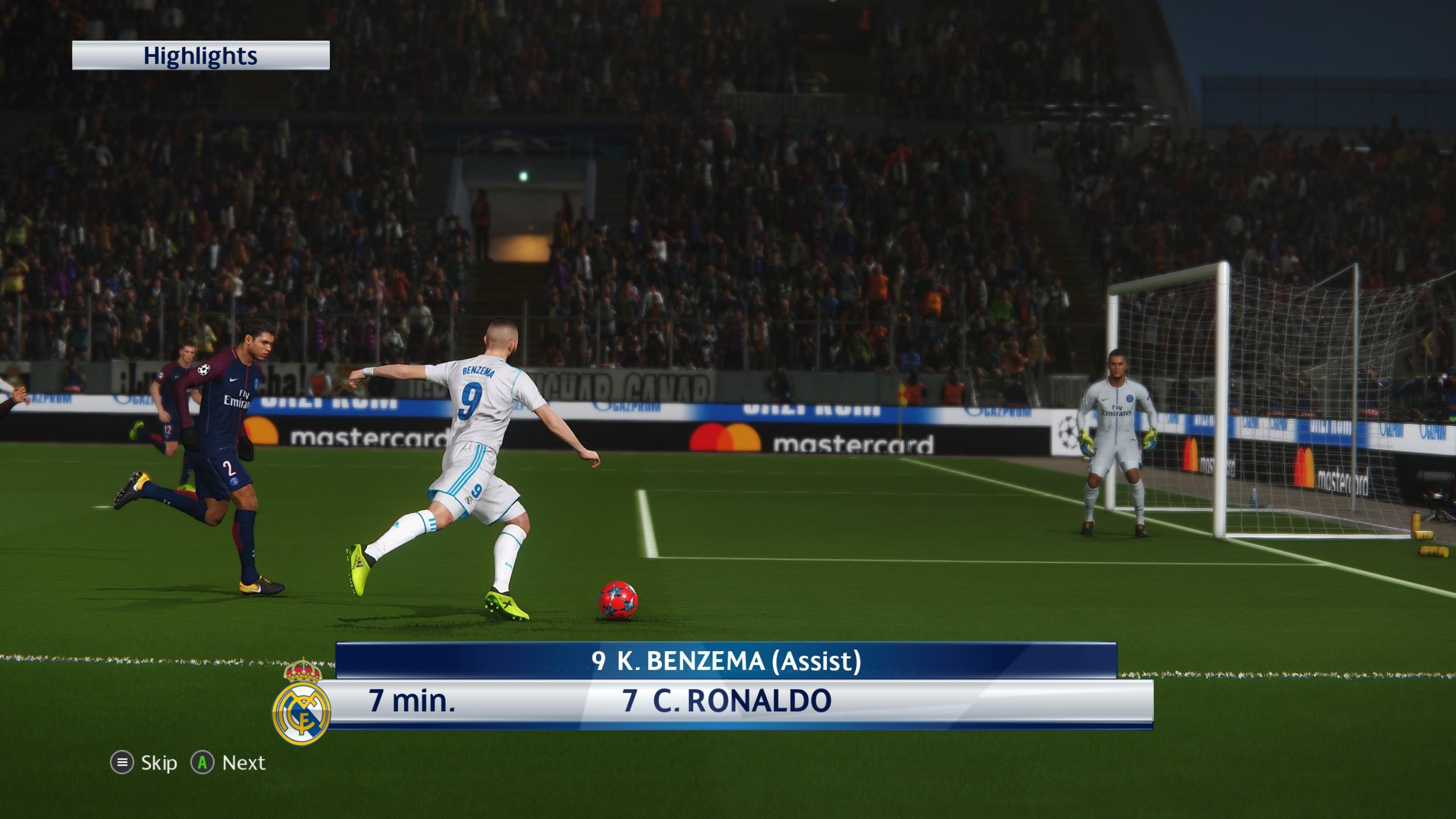 pes 2018 screenshot z gry - zdjęcie 2
