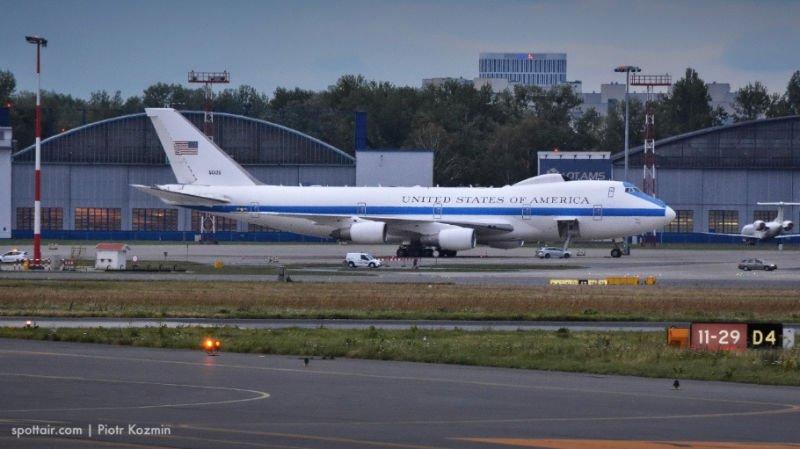 jumbo jet ameryka - samolot Donalda Trumpa