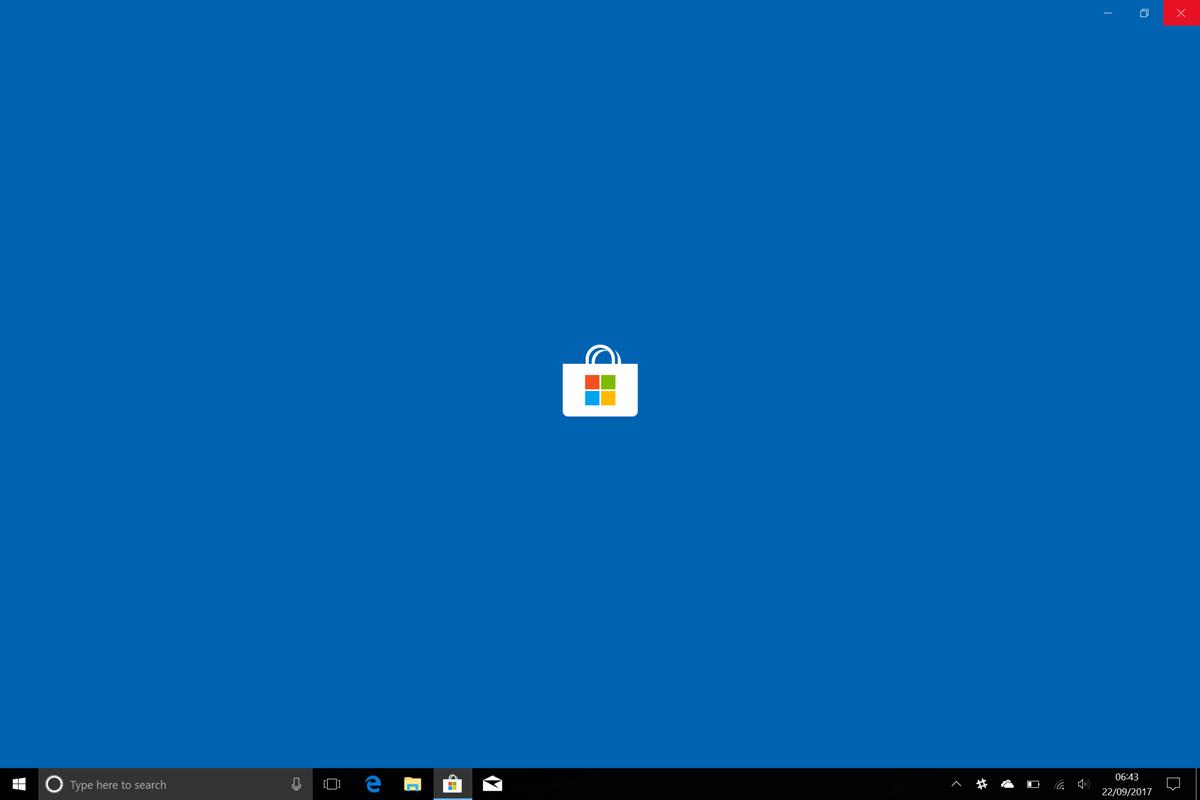 Microsoft Store, Sklep Windows screenshot