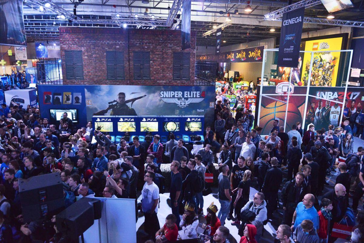 T-Mobile Warsaw Games Week - targi