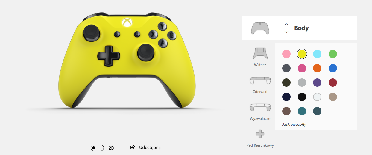 Xbox Design Lab - własny pad
