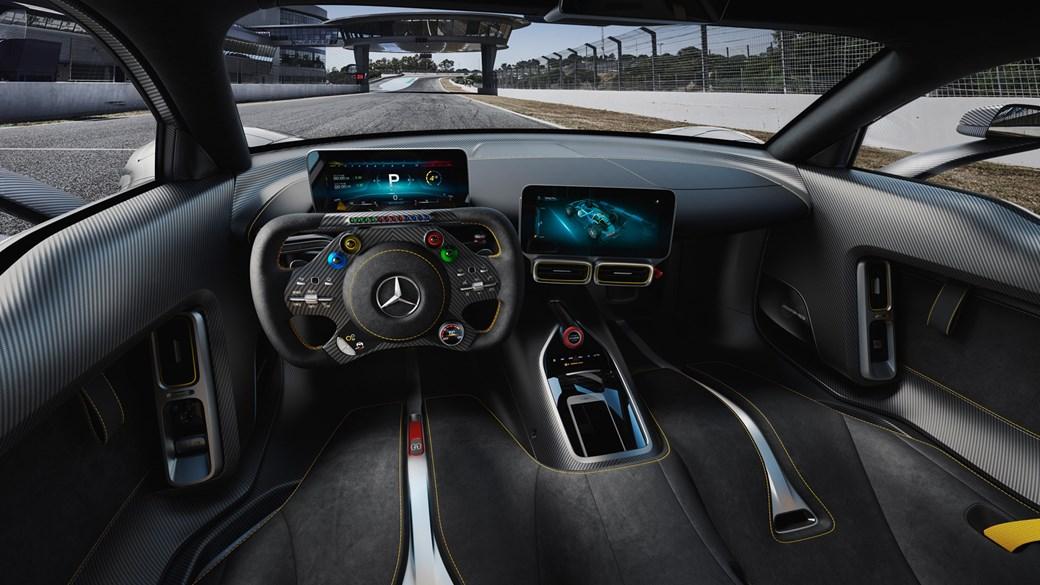 Mercedes-AMG Project One - widok wnętrza