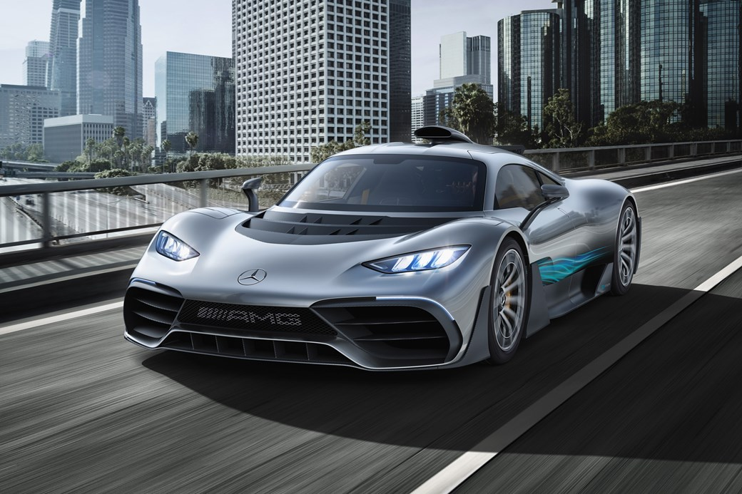 Mercedes-AMG Project One - na drodze