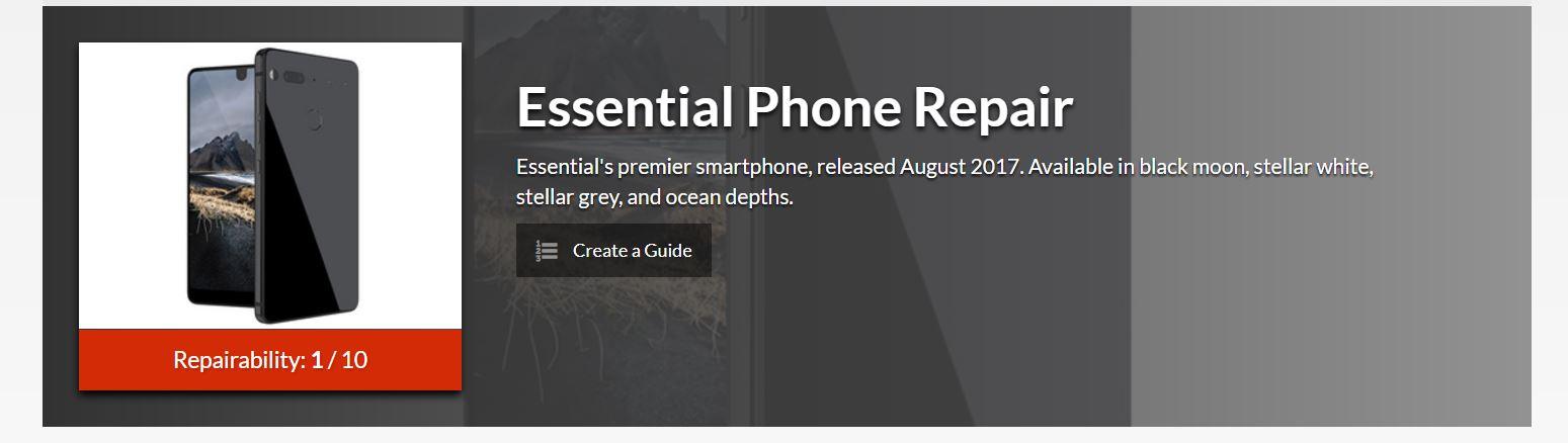 Essential Phone naprawa guide