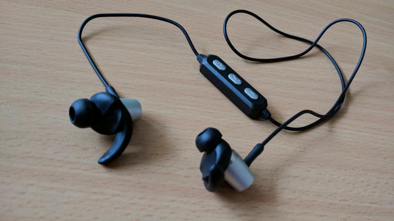 Hykker Air BT - wygląd słuchawek dla aktywnych