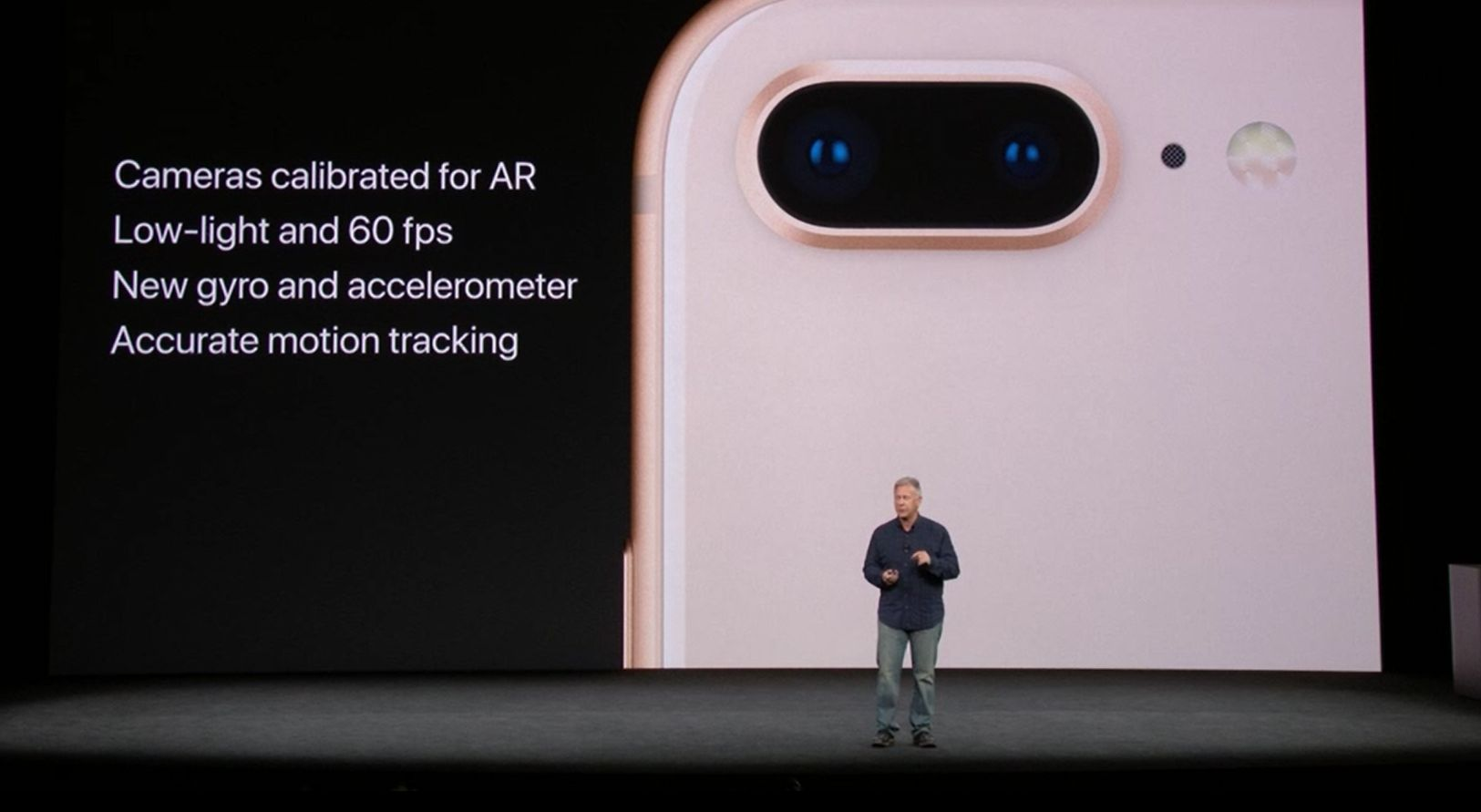 kamera w iphone 8 - AR, 60 FPS