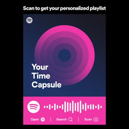 twoja kapsuła czasu na Spotify