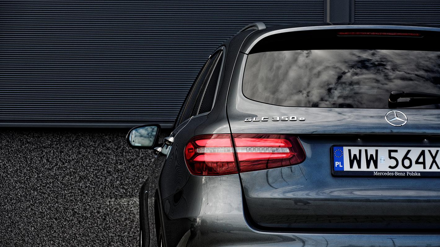 Mercedes-Benz GLC 350 e 4Matic - tylne lampy