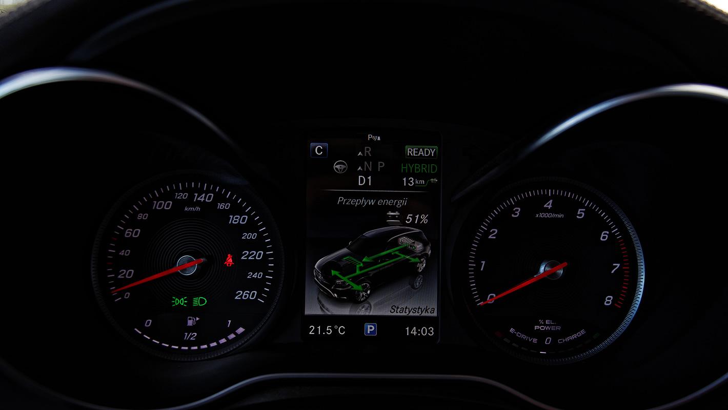 Napęd hybrydowy w Mercedes-Benz GLC 350 e 4Matic