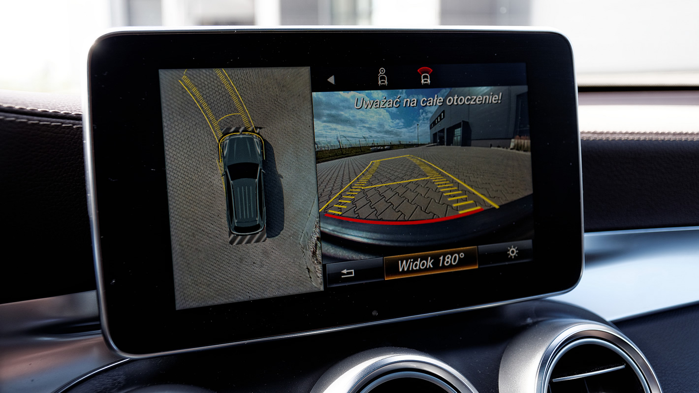 Kamera 360 stopni w Mercedes-Benz GLC 350 e 4Matic