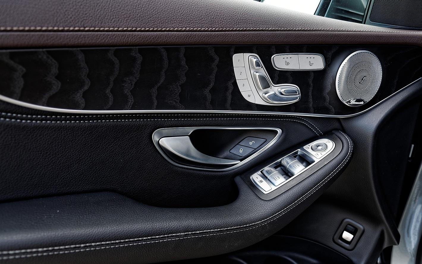 Mercedes-Benz GLC 350 e 4Matic - miękkie wykończenie
