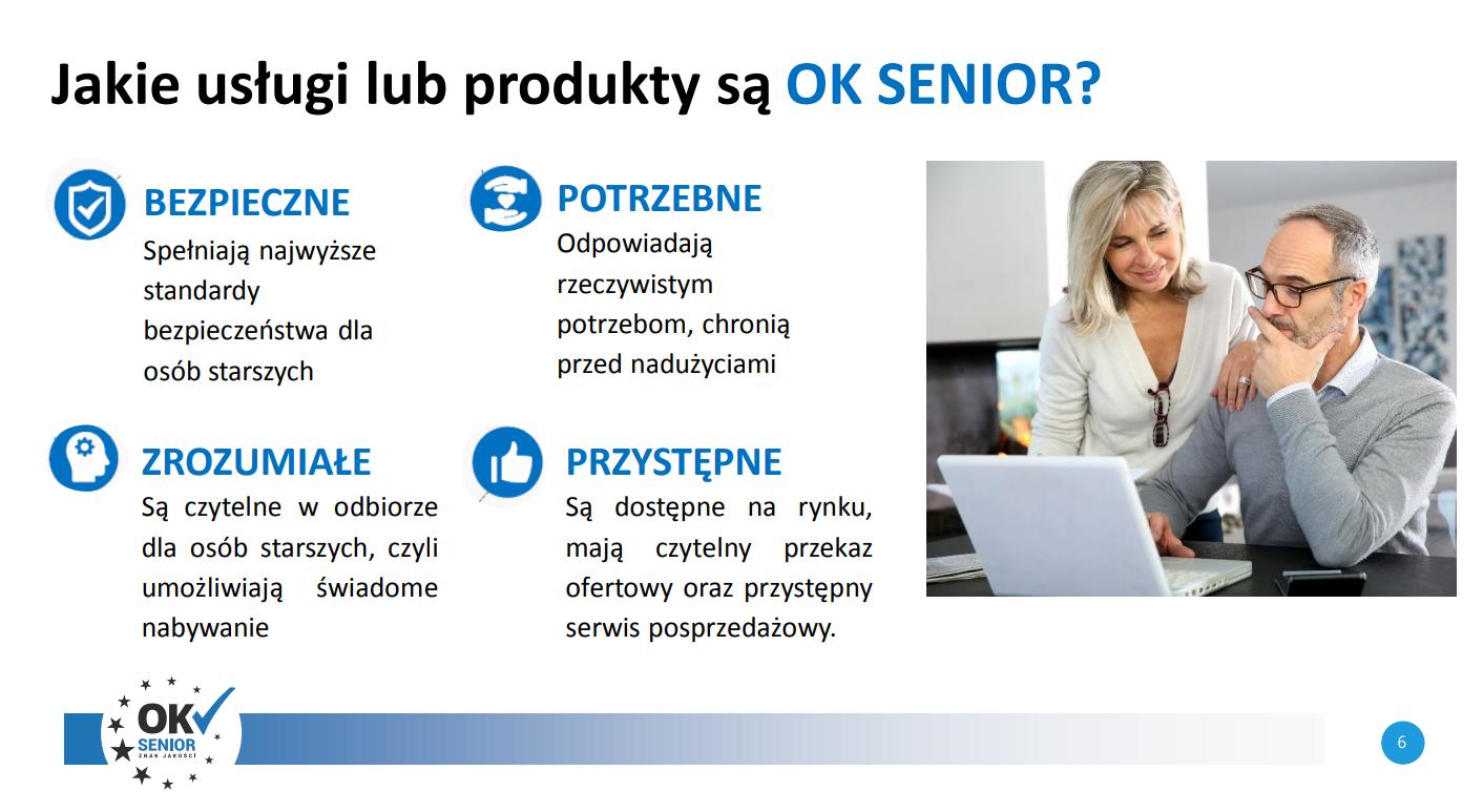 usługi produkty - ok senior