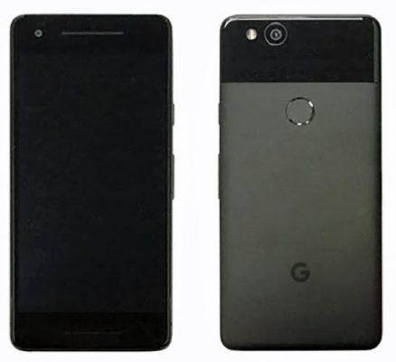 google pixel - wygląd smartfona od google z tyłu