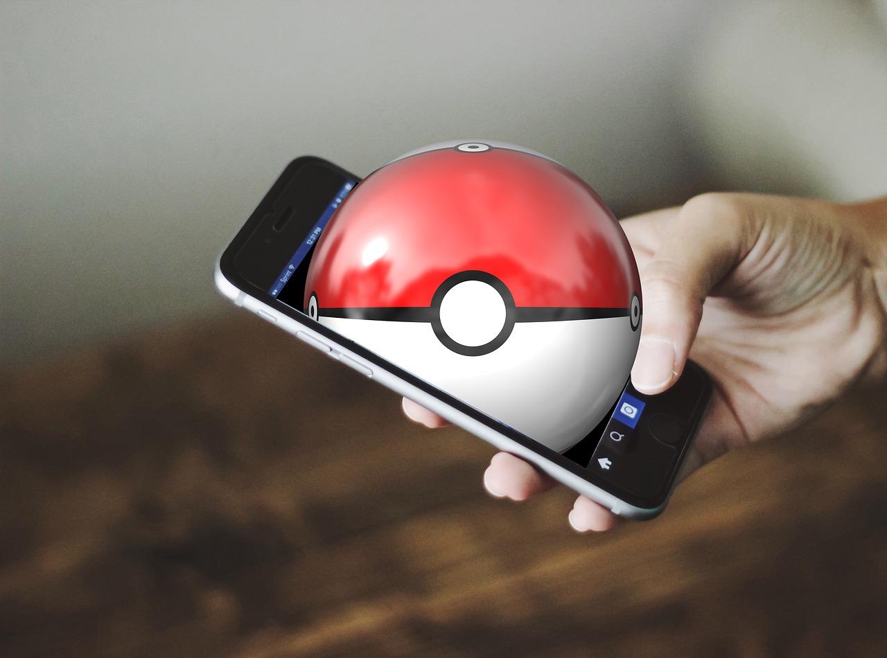 pokeball i smartfon