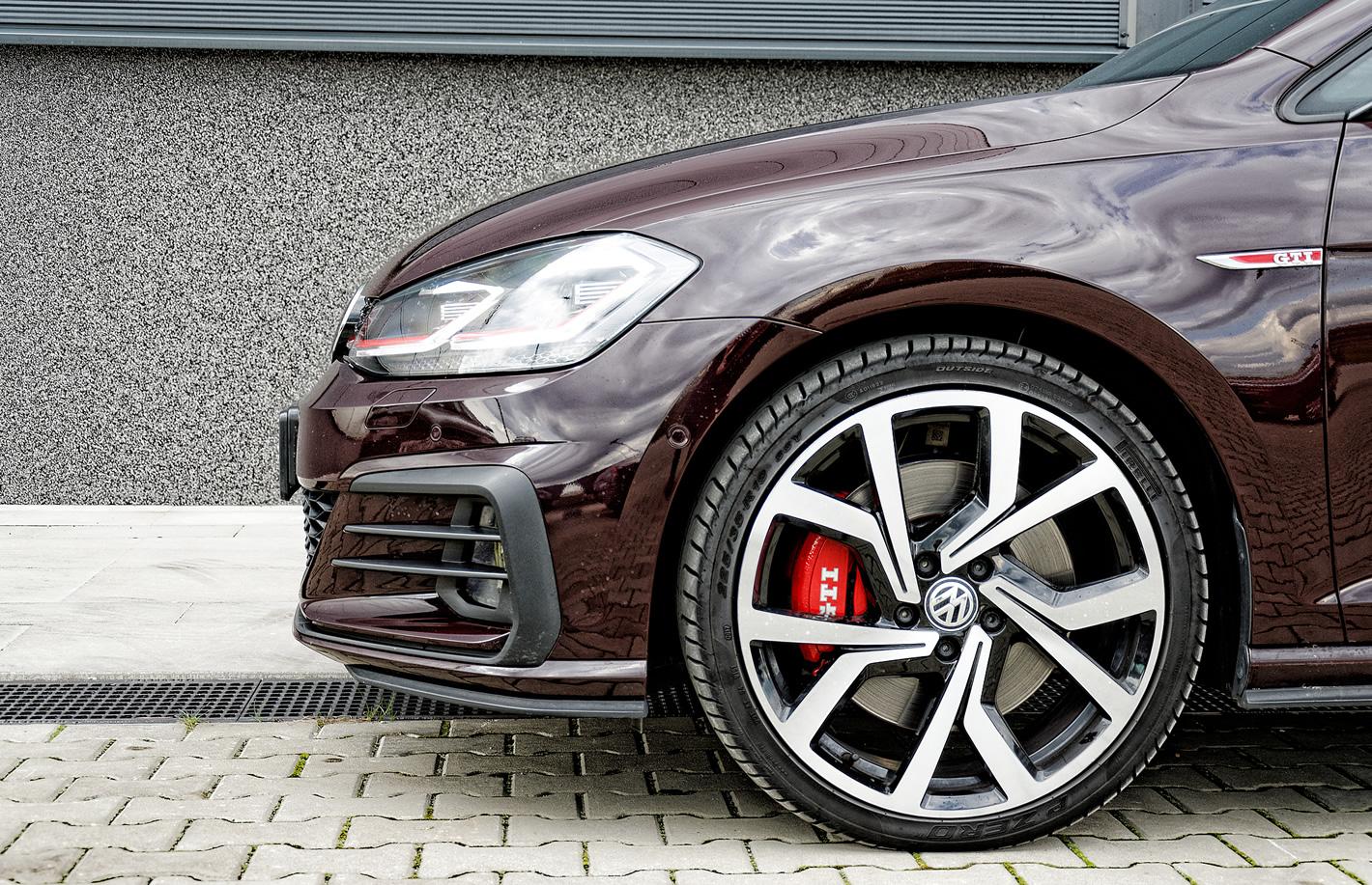 Skuteczne hamulce w Volkswagen Golf GTI Performance