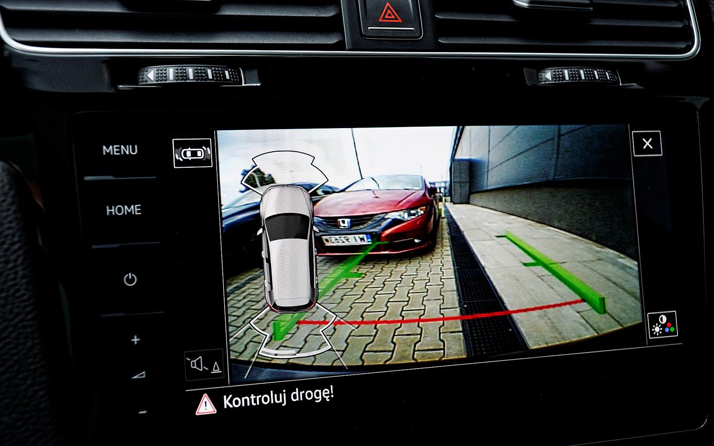 Kamera cofania w Volkswagen Golf GTI Performance