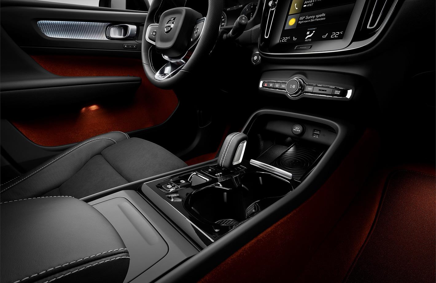 Konsola centralna Volvo XC40