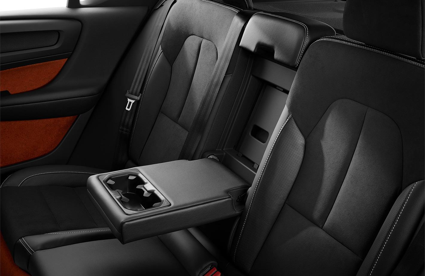 Tylna kanapa w Volvo XC40