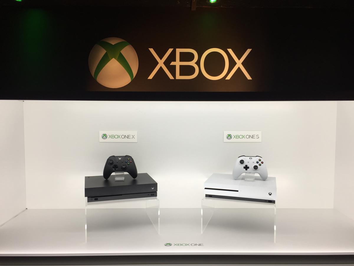 xbox one s i xbox one x