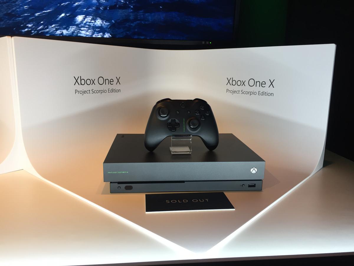 Xbox One X - scorpio edition
