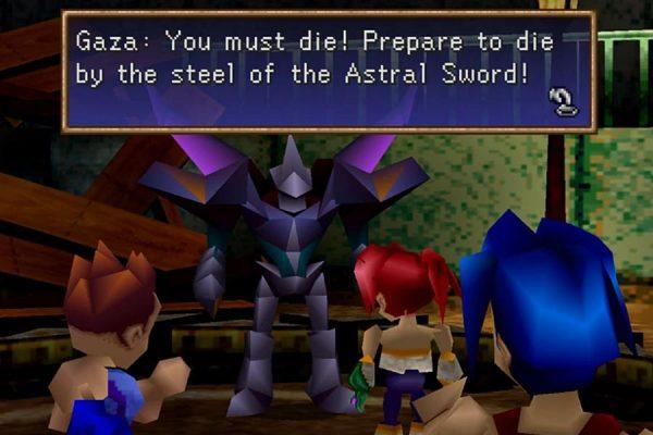 Zapomniane jRPG - Legend of Legaia. Dialog w grze