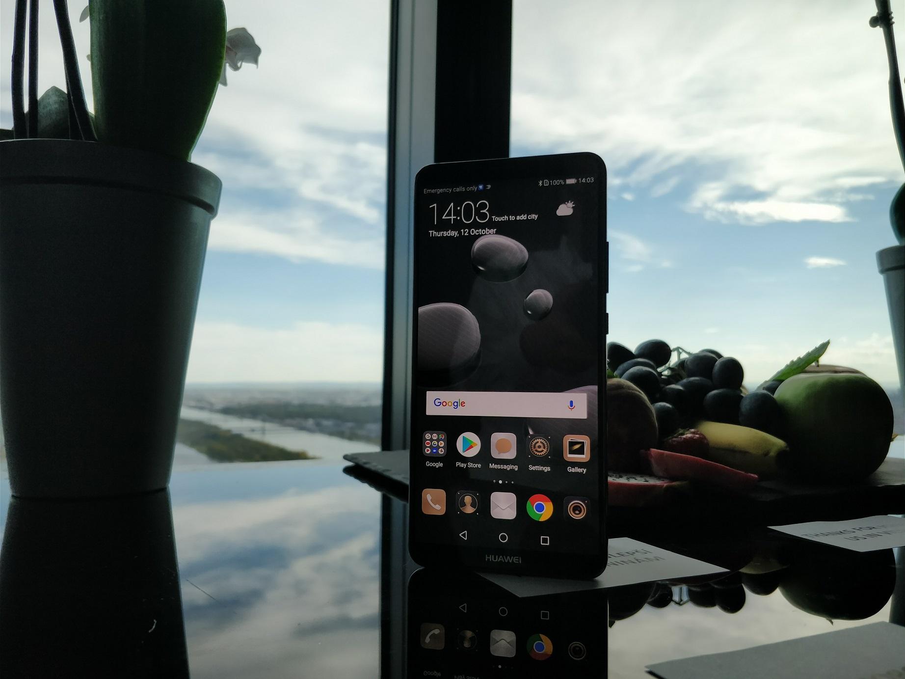 Huawei Mate 10 Pro - widok z przodu