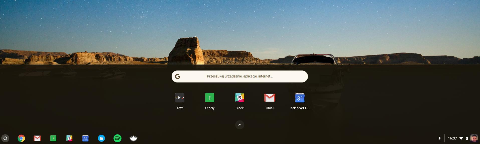 aktualizacja Chrome OS 61.0