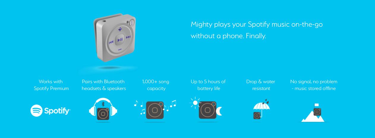 Mighty głośnik spotify bez smartfona