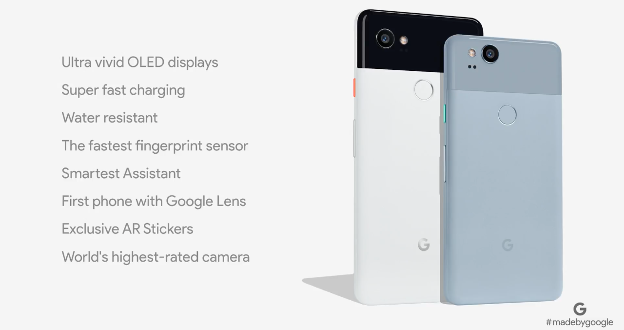 Google Pixel 2 i Google Pixel 2 XL