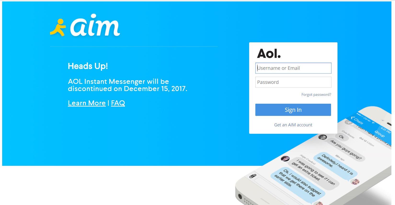 AOL AIM