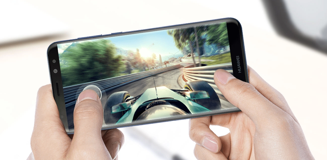 Huawei Mate 10 Lite - wygląd z przodu