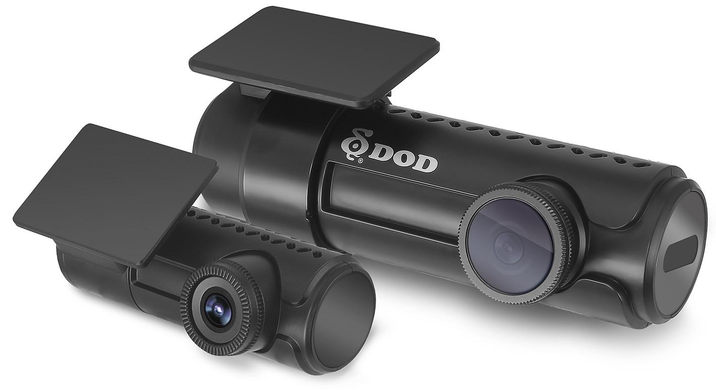 Dwie kamery wideorejestratora DOD RC500S