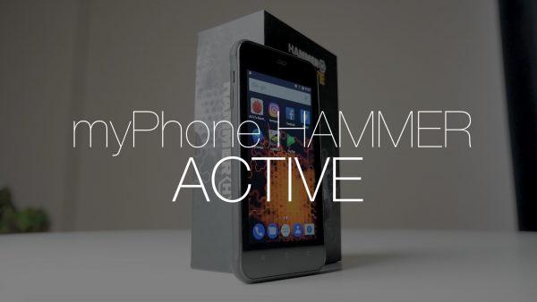 Wytrzymały MyPhone Hammer Active