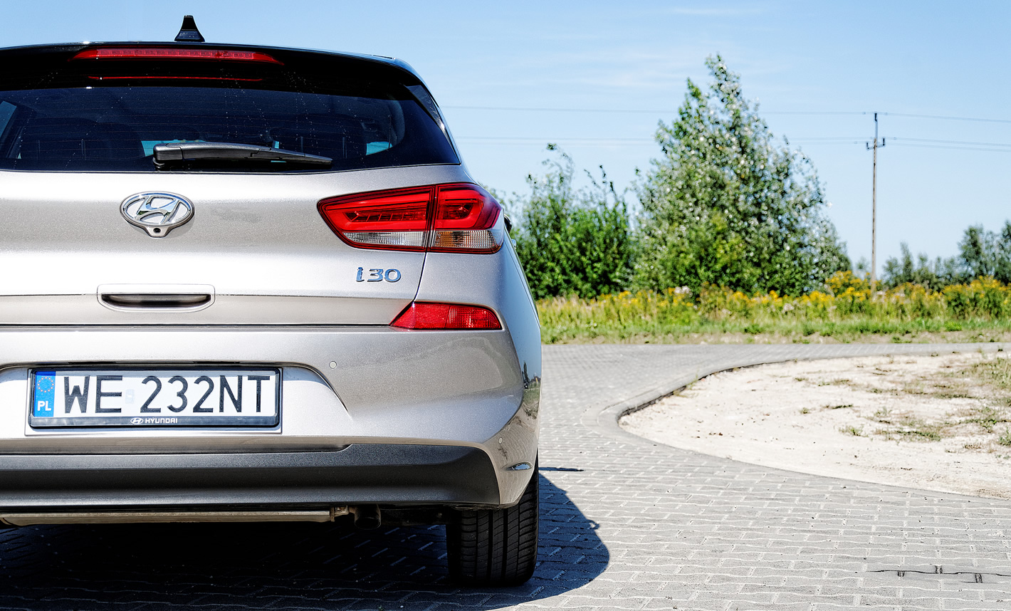 Hyundai i30 to komfortowo zestrojony samochód