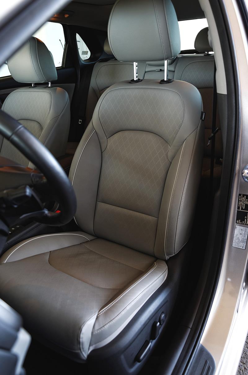 Przednie fotele w Hyundai i30