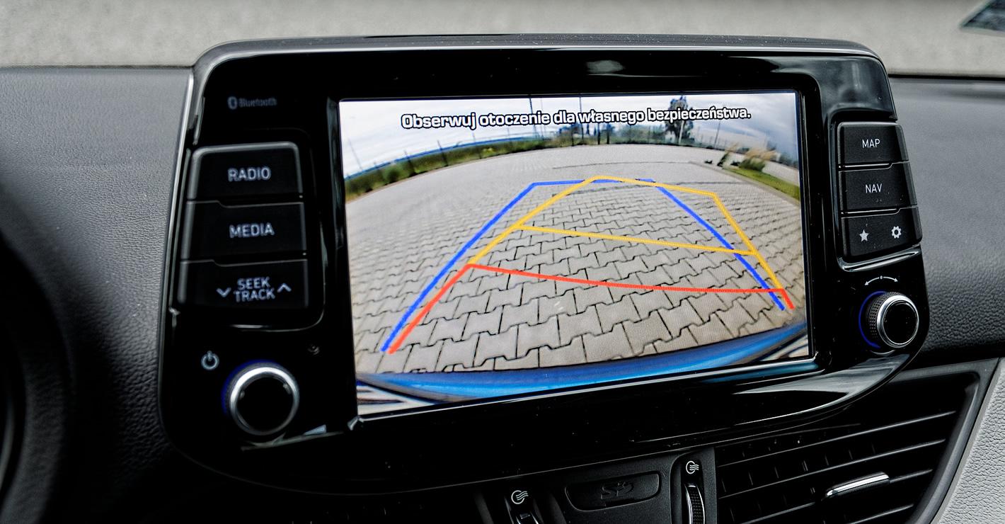 Kamera cofania Hyundai i30