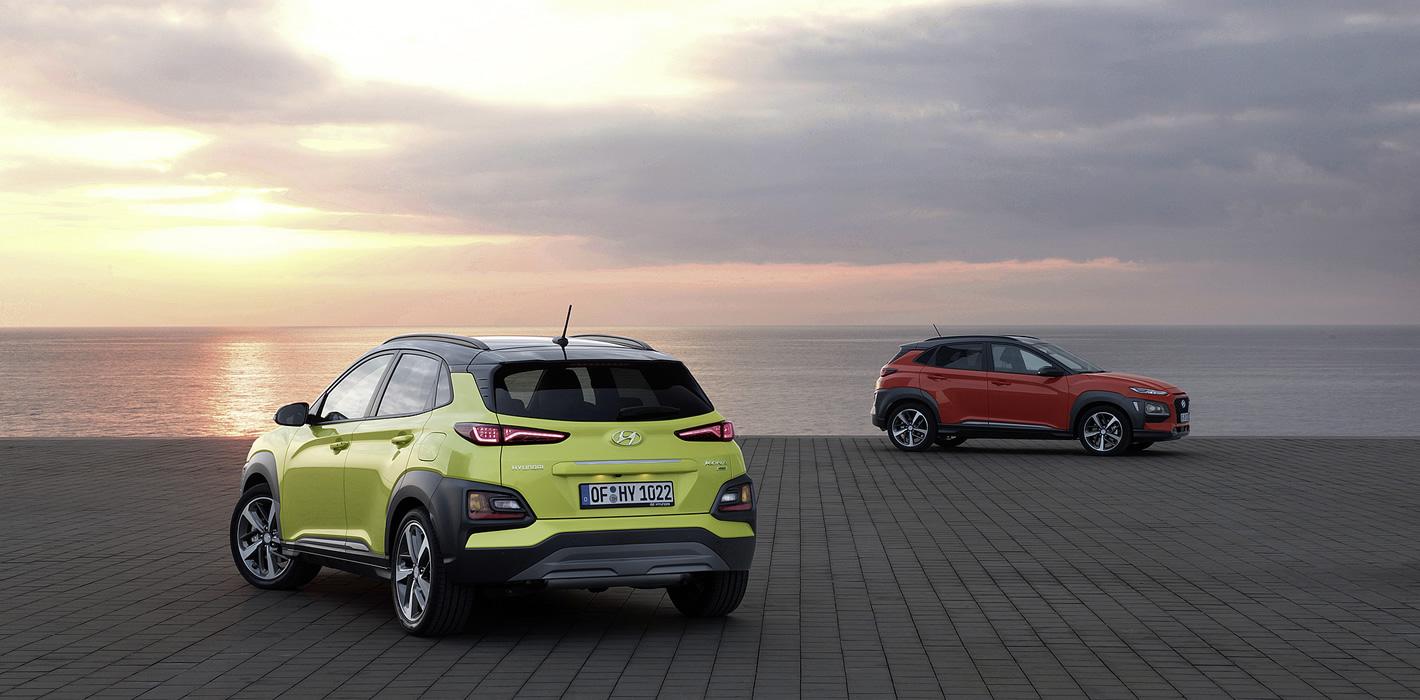 Hyundai Kona - dwie wersje wyposażenia