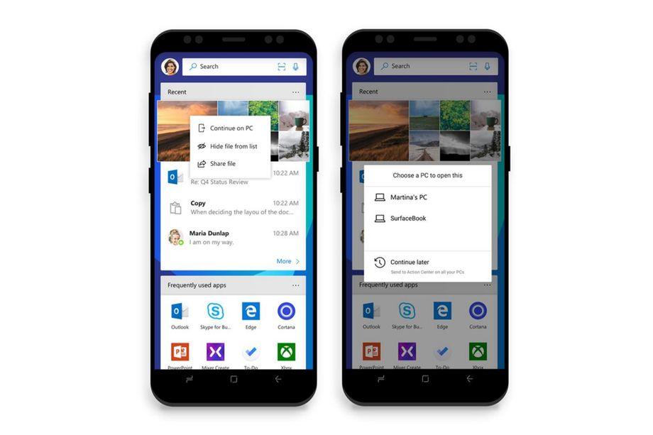 Microsoft Launcher najlepiej połączy PC z Androidem