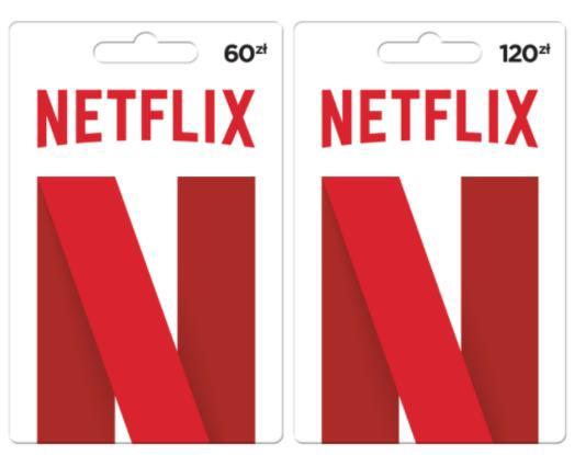 Karta prezentowa Netflix