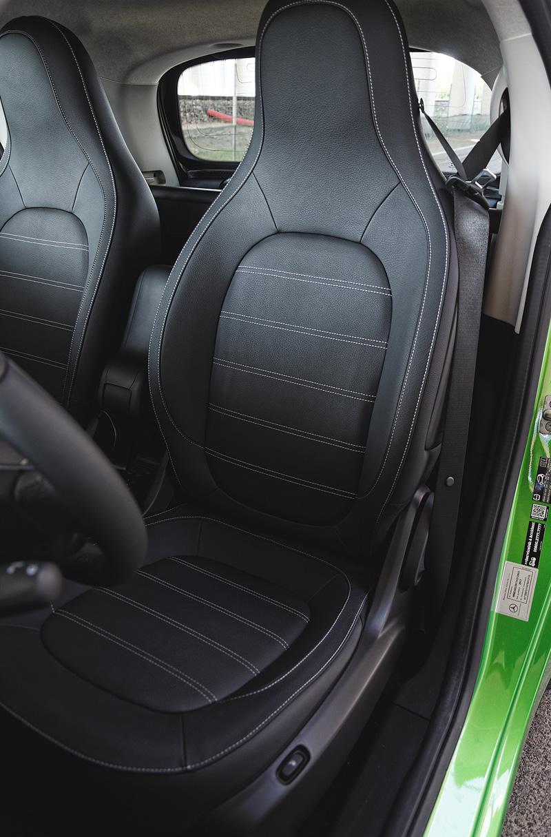 Przednie fotel w smart fortwo electric drive