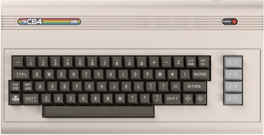 Commodore 64 - wygląd urządzenia