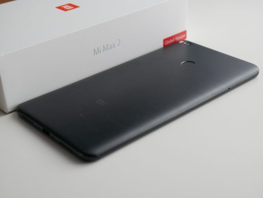 Xiaomi Mi Max 2 - tył