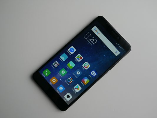 Xiaomi Mi Max 2 - menu