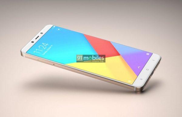 wygląd smartfonu od Xiaomi