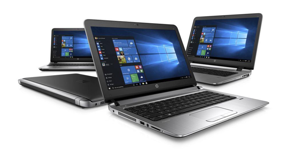 seria laptopów od HP