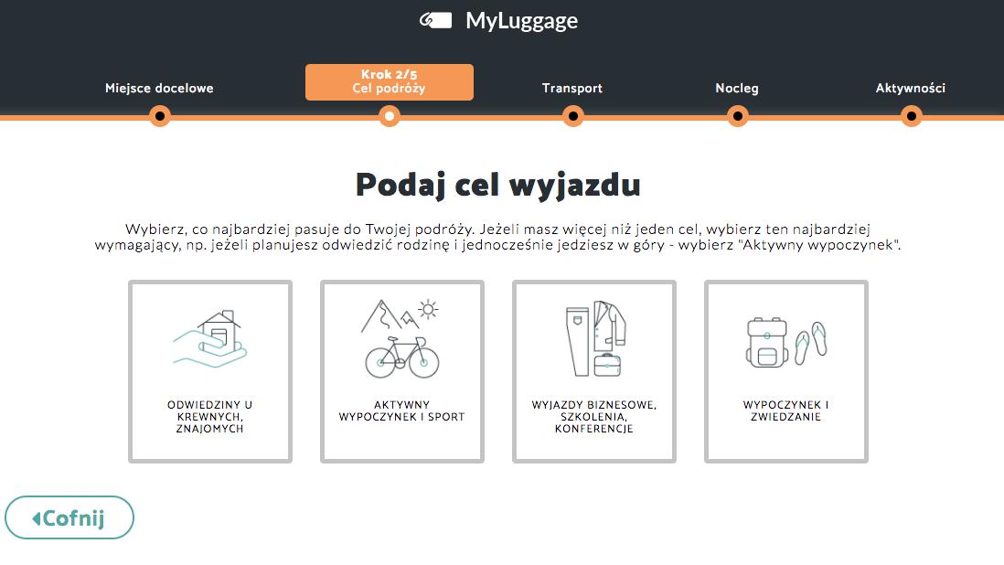 Pakowanie? Podpowie platforma MyLuggage
