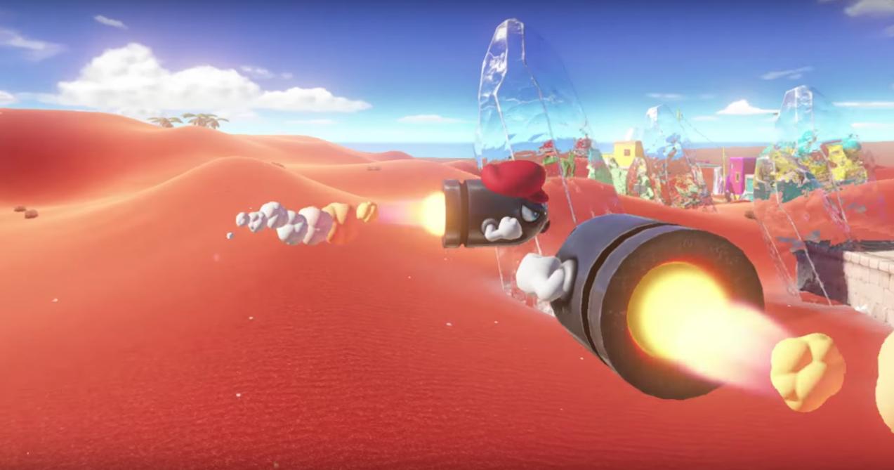 Super Mario Odyssey - gra