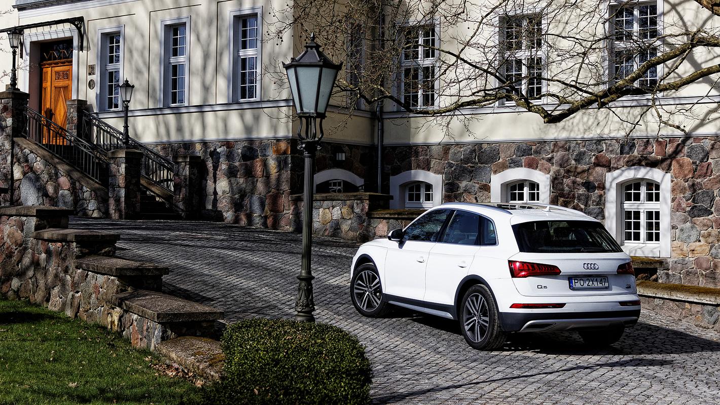 Audi Q5 - stylistyka